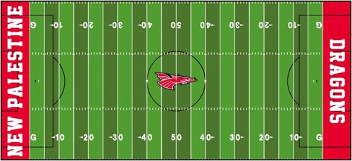 Lay the foundation for a new Kelso Stadium - New Palestine High School