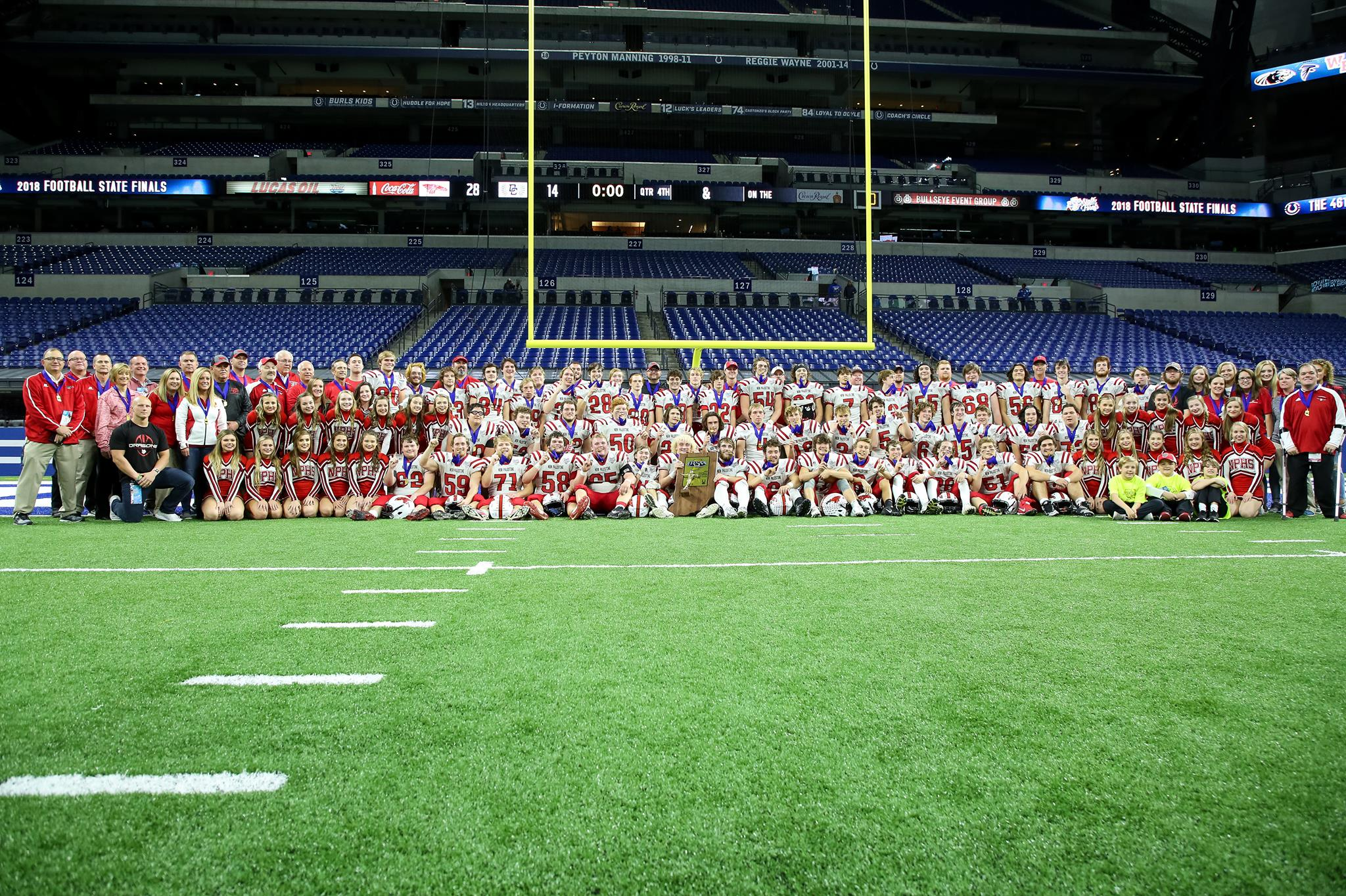 2018 5A State Champion New Palestine Dragons