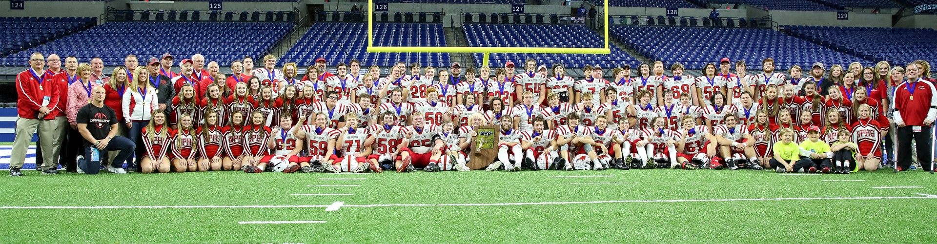 2018 5A State Champion New Palestine Football Team